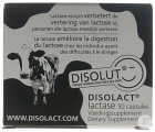 Disolut Disolact Lactase Caps 50