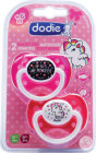 Dodie Sucette Anatomique Duo +6 Mois Girly A70 Pièces 2