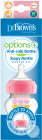 Dr. Brown's Options+ Anti-Colique Bottle To Sippy Starter Kit Biberon Col Large 270 ml Rose Pièce 1