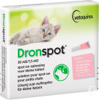 Dronspot 30mg/7,5mg Solution Pour Spot-On Pour Petits Chats 2 Pipettes