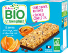 Dukan Bio Barre De Son D'Avoine Orange Miel Chocolat 120g