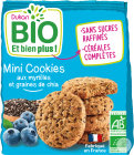 Dukan Bio Mini Cookies De Son D'Avoine Myrtilles Graines De Chia 120g