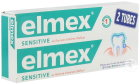 Elmex Dentifrice Sensitive Au Fluorure D'Amines Olafluor Duopack Tube 2x75ml