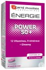 Forté Pharma Énergie Power 50+ Multivitamines 28 Comprimés