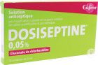 Gifrer Dosiseptine 0,05% Solution Pour Application Cutanée Unidose 10x5ml