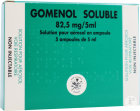 Gomenol Soluble 82,5mg/5ml Solution Pour Inhalation Par Nébuliseur 5 Ampoules
