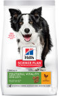 Hill's Pet Nutrition Science Plan Canine Adult 7+ Youthful Vitality Medium Chicken 14kg