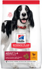 Hill's Pet Nutrition Science Plan Canine Adulte Medium Poulet 14kg