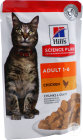 Hill's Pet Nutrition Science Plan Feline Adult 1-6 Chicken Sachet 85g