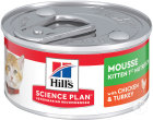 Hill's Pet Nutrition Science Plan Feline Kitten 1st Nutrition Mousse Chicken & Turkey Boîte 82g