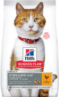 Hill's Pet Nutrition Science Plan Feline Sterilised Cat Young Adult Chicken Sachet 3kg