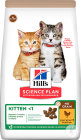 Hill's Science Plan No Grain Aliment Pour Chaton Au Poulet 1,5kg