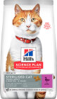 Hill's Science Plan Sterilised Cat Aliment Pour Chat Adulte Stérilisé Au Canard 10kg
