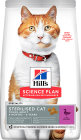 Hill's Science Plan Sterilised Cat Aliment Pour Chat Adulte Stérilisé Au Canard 3kg