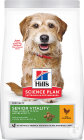 Hill's Youthful Vitality Aliment Pour Chien Adulte Mature 7+ Small & Mini Au Poulet & Riz 1,5kg