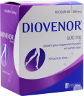 Innothera Diovenor Diosmine Poudre Suspension Buvable 30 Sachets 600mg