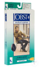 Jobst For Men Casual C2 Bas Genou Pied Fermé Classic Black Small Paire 1