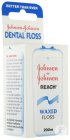 Johnson Reach Dental Floss Waxed Fil Dentaire 200m