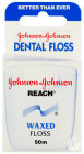 Johnson Reach Dental Floss Waxed Fil Dentaire 50m