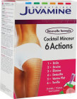 Juvamine Cocktail Minceur 6 Actions Goût Framboise 14 Sticks