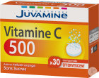Juvamine Vitamine C 500 Arôme Naturel Orange Sans Sucres 30 Comprimés Effervescents