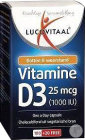 Lucovitaal Vitamine D3 25mcg One A Day 120 Capsules