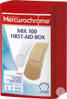 Mercurochrome Mix First-Aid Box 100 Pièces