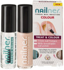 Nailner Brush Treat And Color Antimycose Des Ongles 2x5ml