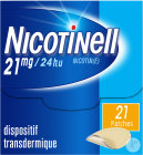 Nicotinell 21mg/24h 21 Patchs