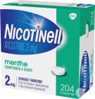 Nicotinell 2mg Nicotine Menthe 204 Comprimés À Sucer