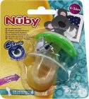 Nuby Sucette Orthodontique Phosphorescente  6m+