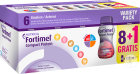 Nutricia Fortimel Compact Protein Variety Pack Promo Flacons 8+1 Gratuit