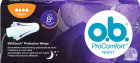 O.b. ProComfort Night SilkTouch Tampons Super Protection De Nuit Flux Abondant 16 Pièces