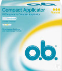 O.b. Tampon Compact Applicator Normal 16 Pièces