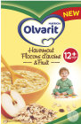 Olvarit Flocons D'Avoine Et Fruit 12+ Mois 250g