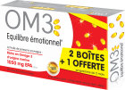 OM3 Pack Equilibre Emotionnel Capsules 3x60