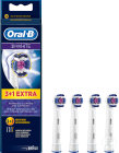Oral-B 3DWhite Brossettes Recharge 3 Pièces +1 Extra