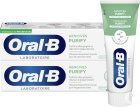 Oral-B Gencives Purify Nettoyage Intense Dentifrice Complexe Stanneux 2x75ml