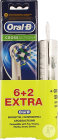 Oral B Refill Crossaction 6+2 + Ecout. Sony Grat.