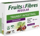 Ortis Fruits & Fibres Regular Transit Intestinal 24 Cubes