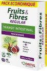 Ortis Fruits & Fibres Regular Transit Intestinal Ecopack 3x15 Comprimés