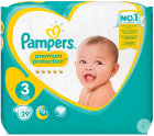 Pampers Premium Protection 6-10kg Taille 3 Couches 29
