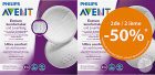 Philips Avent Coussinets d'allaitement jetables Promo pack - SCF254/21