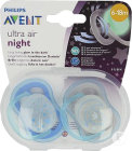 Philips Avent Sucette +6m Air Night Mix