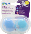 Philips Avent Sucette Ultra soft - SCF212/21 (0m+) - 2x
