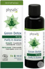 Physalis Green Detox Purify & Cleanse Huile De Massage Bio 100ml