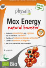 Physalis Max Energy Natural Booster Bio 30 Comprimés