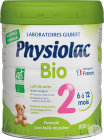 Physiolac Bio 2 Lait De Suite Pot 800g