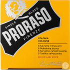 Proraso Wood And Spice Tissus Rafraîchissants 6 Pièces
