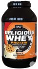 QNT Delicious Whey Protein Poudre Cookies & Cream Pot 908g